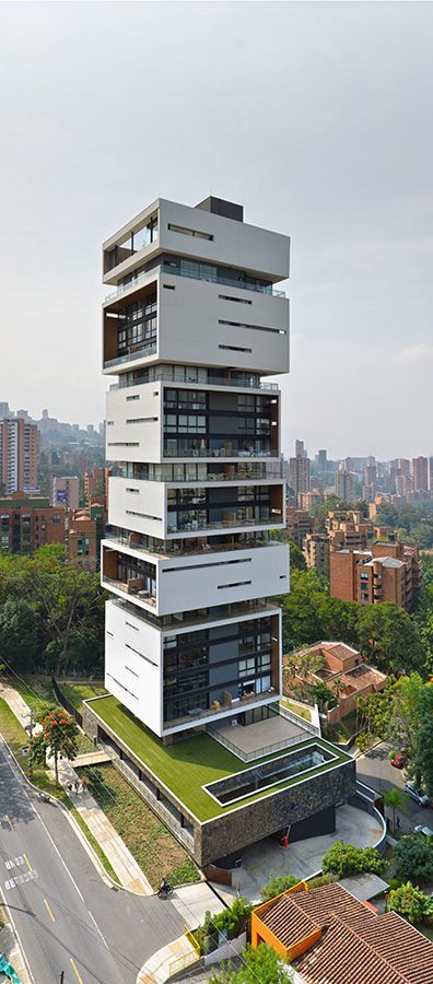 Proyecto: Energy Living, Una torre de casas en Medellín