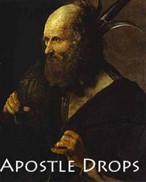 Apostel druppels    -Apostel Paulus de 13de Bij geestelijke pijn en angst