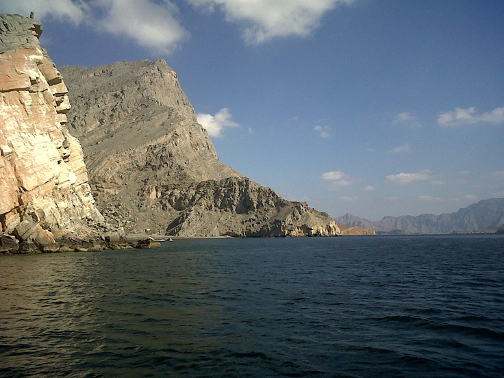 Strait of Hormuz - off the coast of Musandam, Oman