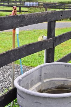 Tips for cleaning the horse's water trough!  http://www.proequinegrooms.com/tips/barn-management/how-to-clean-the-water-trough/