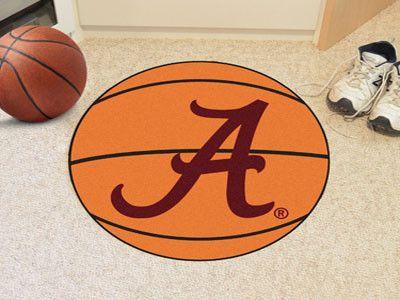 Basketball Mat - University of Alabama Crimson Tide Script A