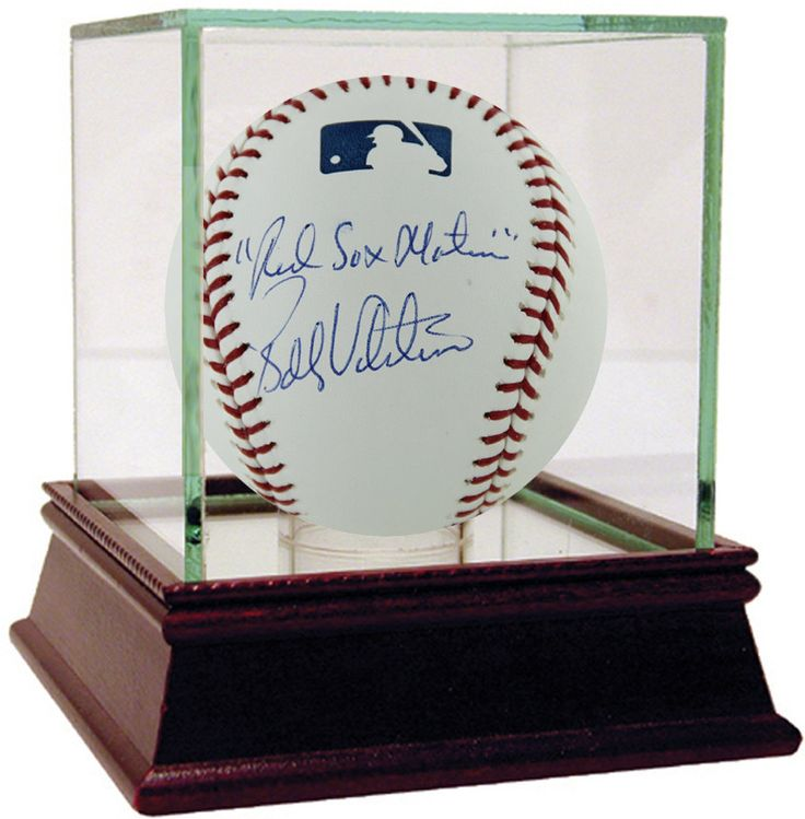 Bobby Valentine MLB Baseball W/ U0027Red Sox Nationu0027 Insc. (Signed On