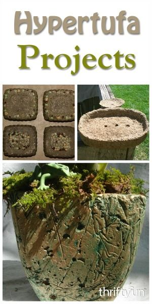 This is a guide about hypertufa craft projects. This simple mixture of Portland…