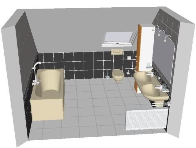 Indeling van een compacte badkamer?