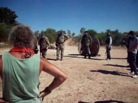 Skirmish at Gforce - March 2012 (Airsoft game / war, South Africa)