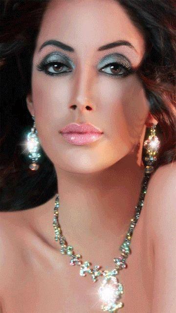 Stunning brunette bollywood dancer nude 9