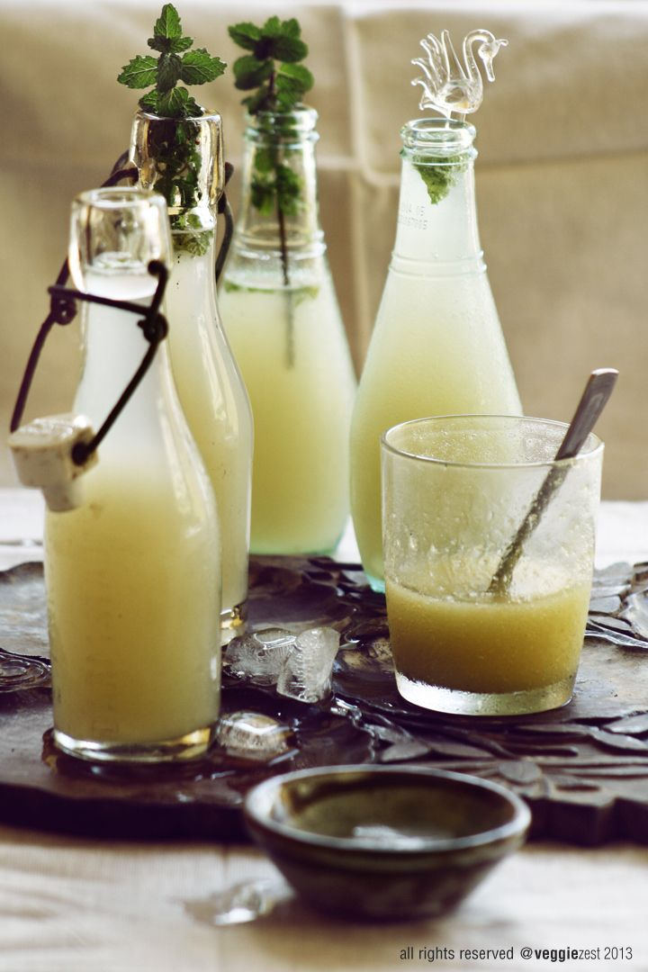 REFRESCO DE MANGO (Mango Lemonade) #BebidasSinAlcohol #recetas