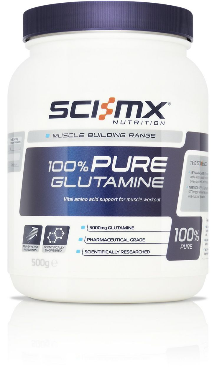 100% PURE GLUTAMINE - Ultimate Muscle Recovery - Maximises Protein Synthesis - Removes Muscle Ammonia http://www.sci-mx.co.uk/muscle-building/amino-acids/100-pure-glutamine.html