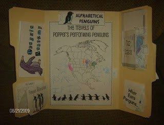 Mr. Popper's Penguins free lapbook - Embracing Destiny