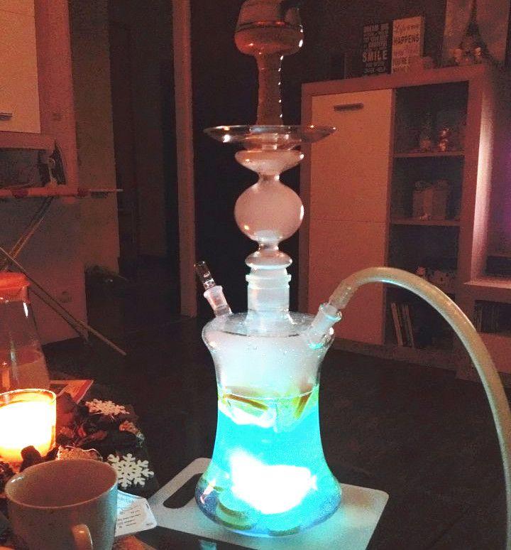 Al Fakher Premium Magic LED Lights Shisha Hookah  GET IT NOW  FREE WORLDWIDE SHIPPING!   ShishaZen  #shisha #hookah #smoking