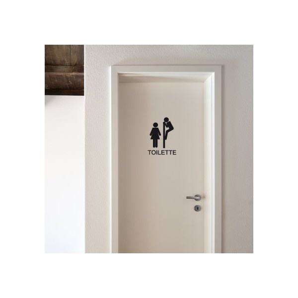 original sticker to the wc and toilet signaletik pinterest toilets to the and the o 39 jays. Black Bedroom Furniture Sets. Home Design Ideas