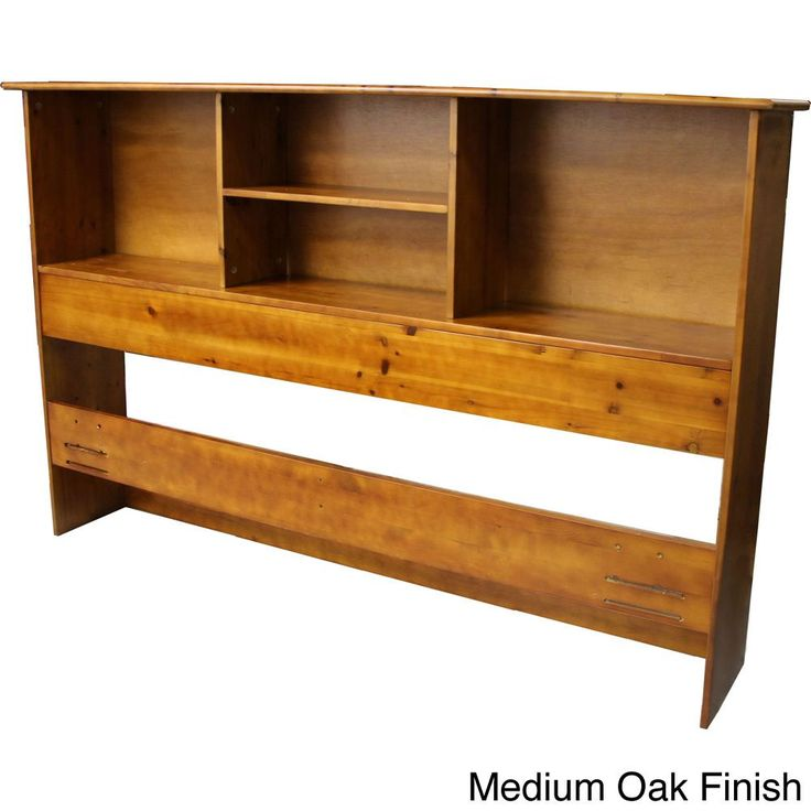 Scandinavia Solid Wood Bookcase Headboard | Overstock™ Shopping - Big Discounts on EpicFurnishings Headboards