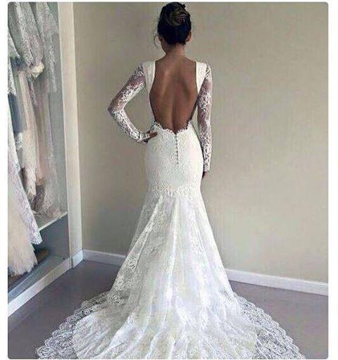 Pin for Later: 23 Hochzeitskleider, die beweisen: Ein schöner Rücken kann auch entzücken!