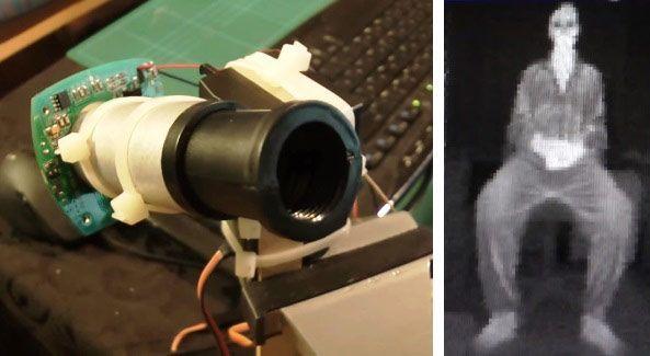 DIY Arduino Thermal Imaging Camera