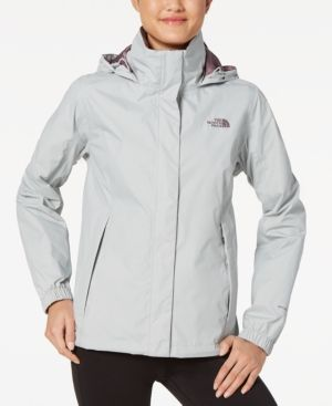 The North Face Resolve 2 Waterproof Packable Rain Jacket - Gray XXL