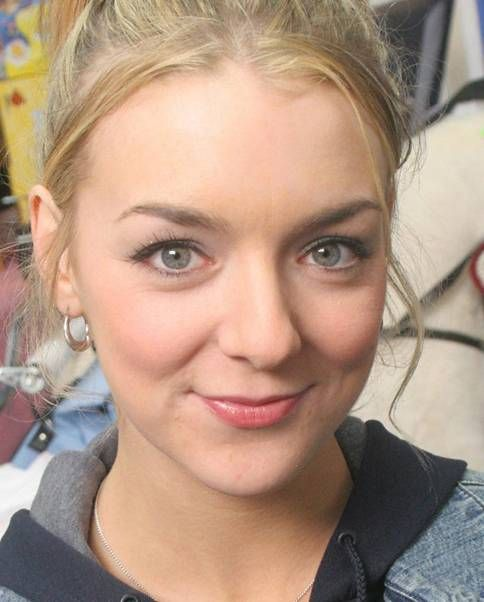 Sheridan Smith as Janet in the BBC comedy, Two Pints of Lager and a Packet of Crisps (Picture: BBC)