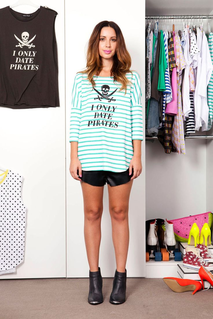 Chip Chop! - PIRATES Striped 3/4 Sleeve Top, $79.00 (http://www.chipchop.com.au/pirates-striped-3-4-sleeve-top/)