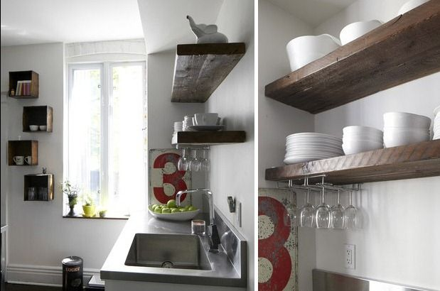 Best 5 Low Cost Cabinet Updates Cheap Cabinets Shelves Open 400 x 300
