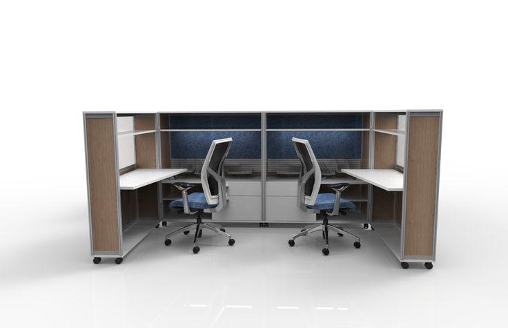 fluidconcepts - Meet Bob - The 'Beautiful Office in a Box' www.fluidgroup.com
