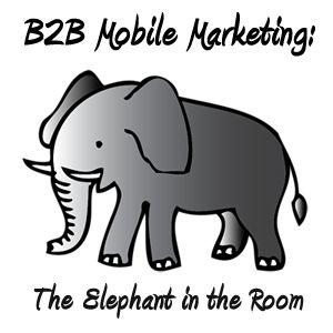B2B Mobile Marketing: The Elephant in the Room http://bit.ly/JY2UAf: B2C Mobiles, Elephants Trumpets, Watches, Mobiles Marketing, Trumpets Sound, B2B Mobiles