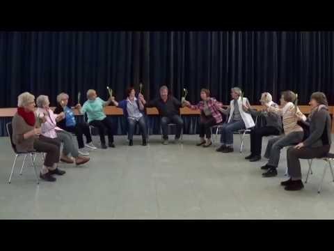 Tanzen im Sitzen Tulpen aus Amsterdam - YouTube