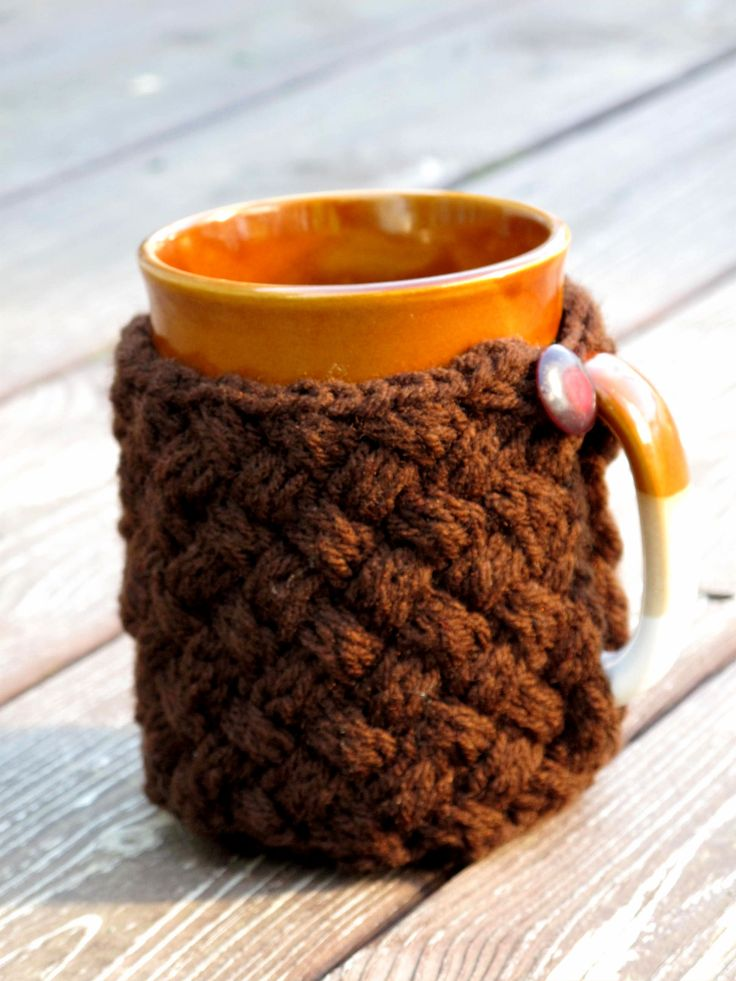 Knitting Pattern For Mug Sweater : My Cup of Tea Mugs, Sweaters and Tutorials
