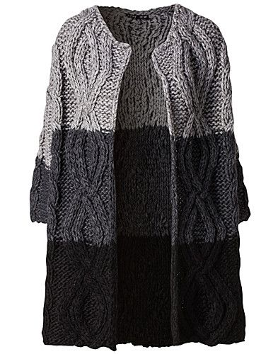 Heavy knit cardigan | fairly uncomplicated NELLY.COM