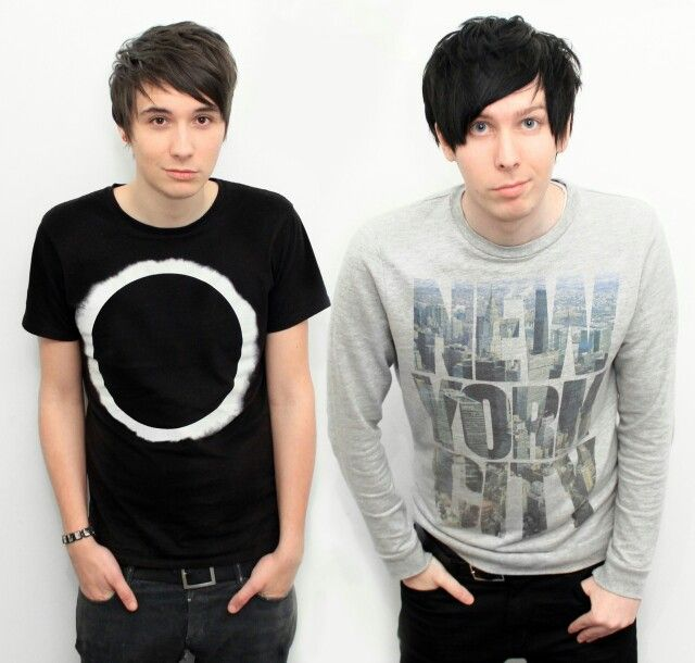 Dan Howell and Phil Lester, more British Youtubers. - Tee