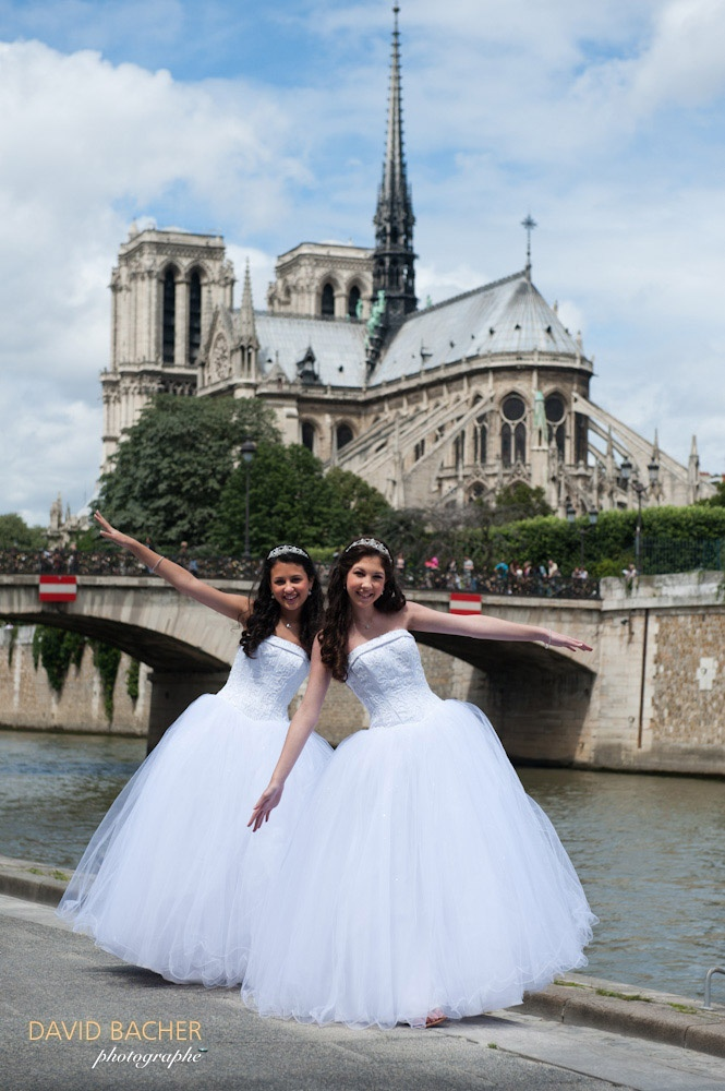 Quinceañera photo session in Paris