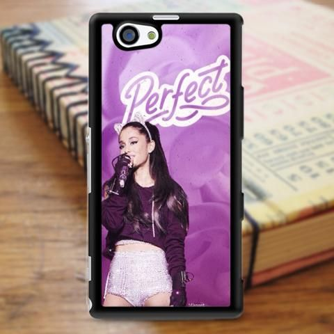 Ariana Grande Perfect Purple Sony Experia Z3 Case