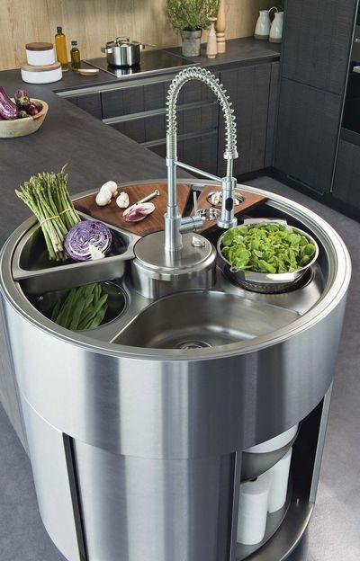 Conception et aménagement de la cuisine : les 7 étapes à connaître - CôtéMaison.fr > Aquastation (Darty)