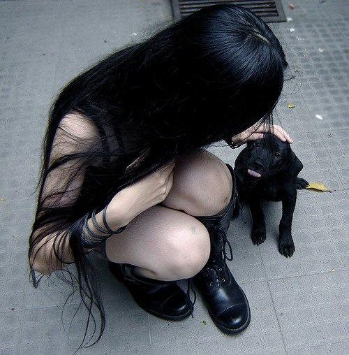 black goth