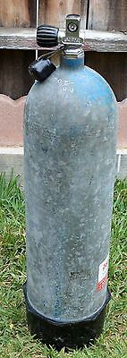 VINTAGE SCUBA DIVE STEEL TANK 2250PSI WITH US DIVERS VALVE AND BOOT