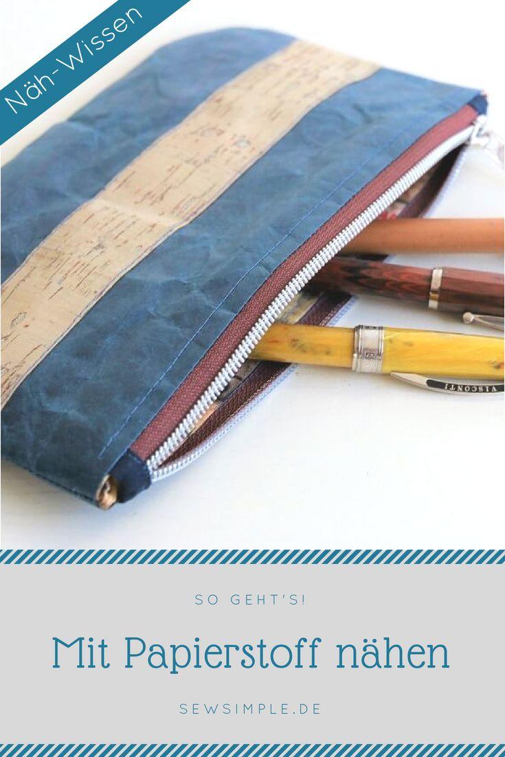 ᐅ Mit Papierstoff Nähen Cartuchera Pinterest Sewing Sewing
