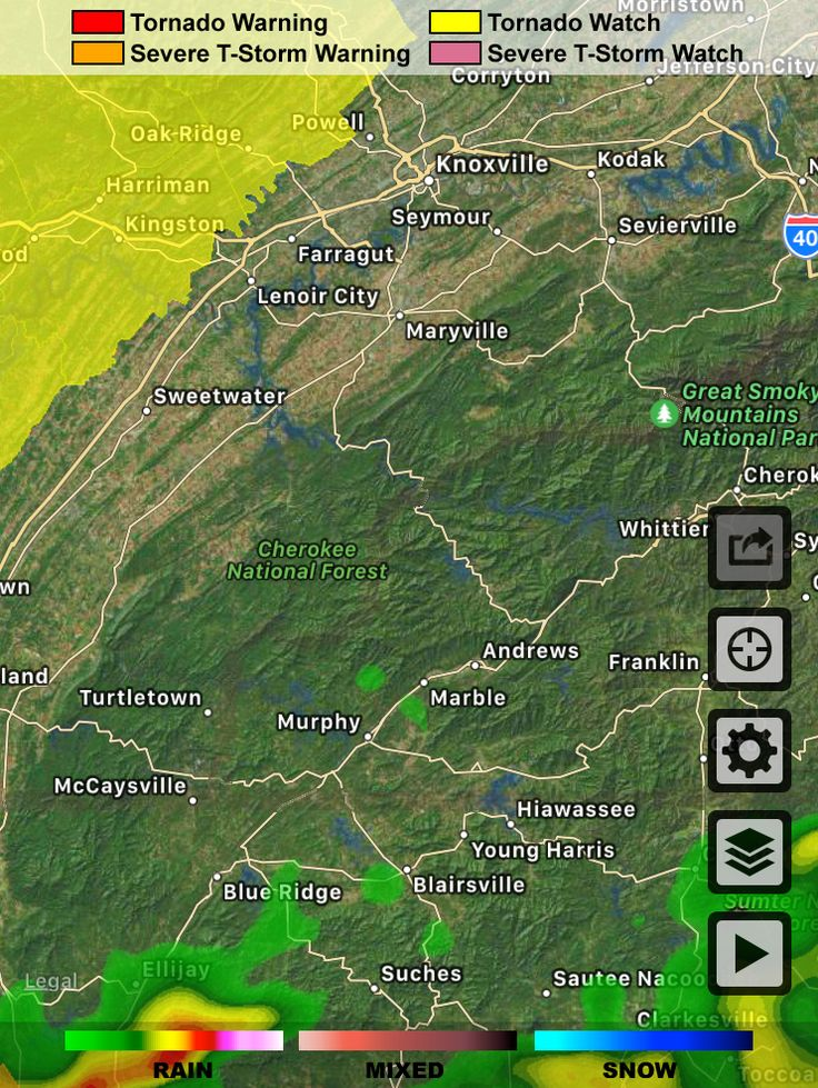 Radar from the @WSBTV Channel 2 Weather App. Download at http://wsbtvweatherapp.com.