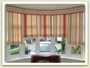 Ideas for bow window treatments 1940 39 s home and for 1940s window treatments