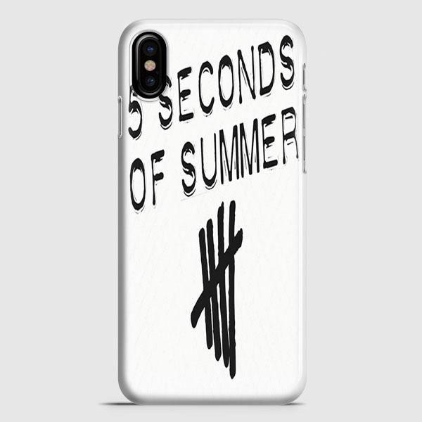 5Sos White iPhone X Case | casescraft