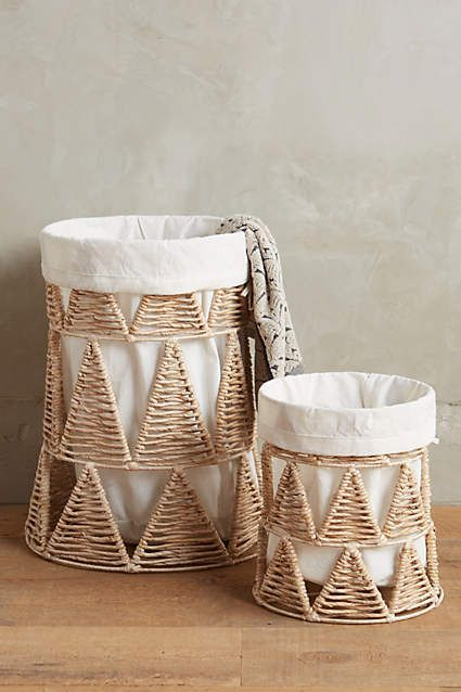 Woven-Wedge Baskets - anthropologie.com
