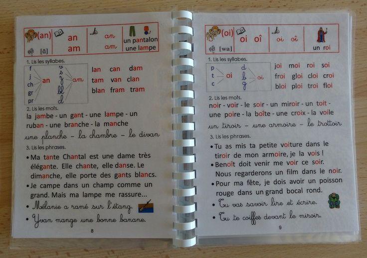 Livrets d'apprentissage de la lecture au CP