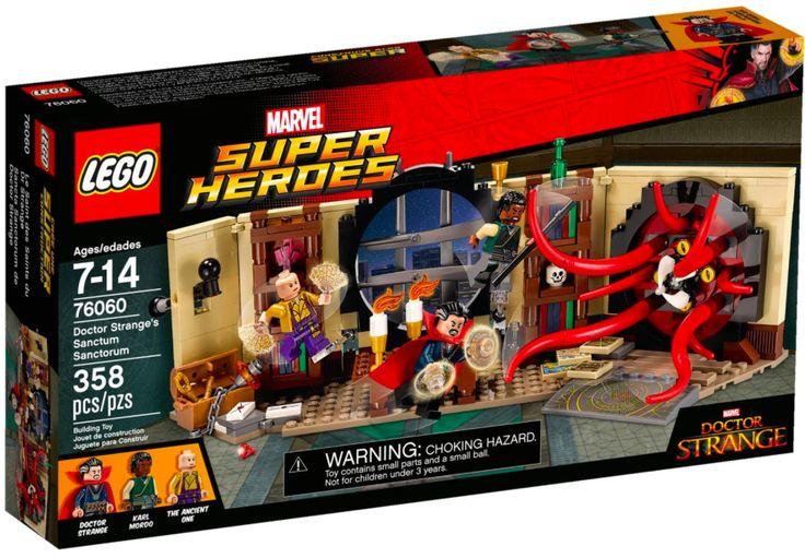 LEGO Marvel Super Heroes Doctor Strange's Sanctum Sanctorum 76060 NEW NIB #Lego