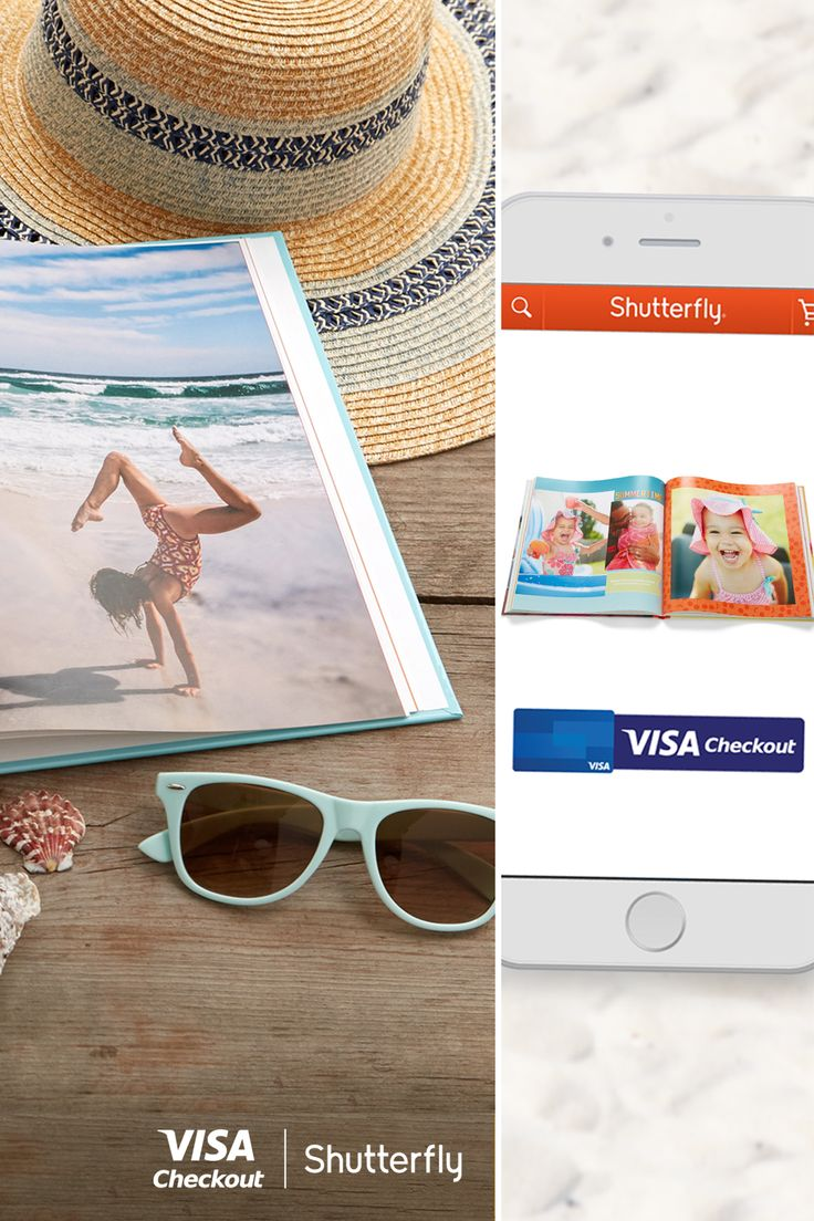 Get $20 off your next online purchase at shutterfly.com when you pay with Visa Checkout- the easier way to turn summer memories into keepsakes. Offer valid thru 8/22, while supplies lasts. Limit 1 per person. Redeem w/ code for future purchase. Code valid until 8/31/16. See full terms.