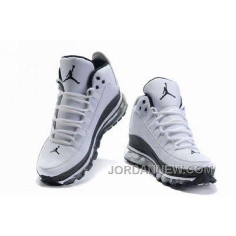 Men's Nike Air Max Jordan Take Flight 2009 Shoes White/Black Free Shipping 26bb3KM