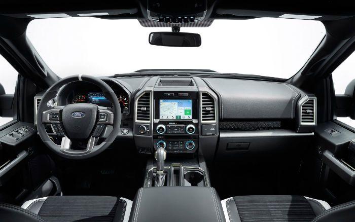 2017 Ford Raptor Interior