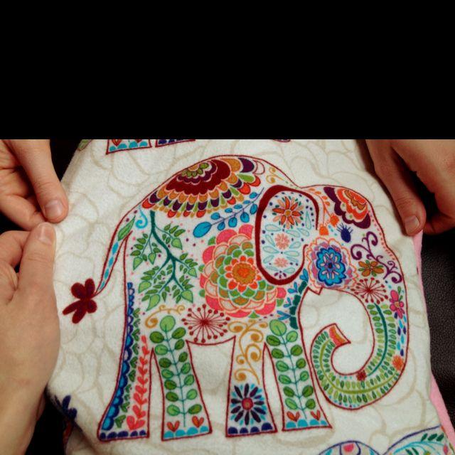 Jeni's elephant pants.