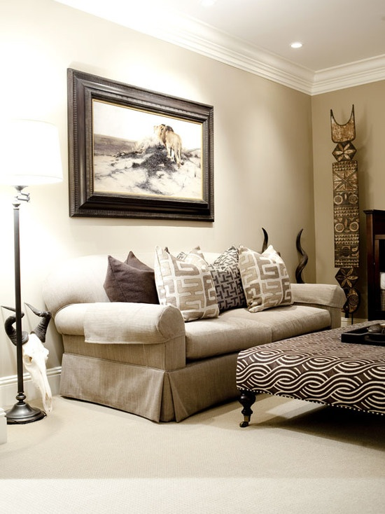 76 best african inspired images on pinterest africa for Modern day living room ideas