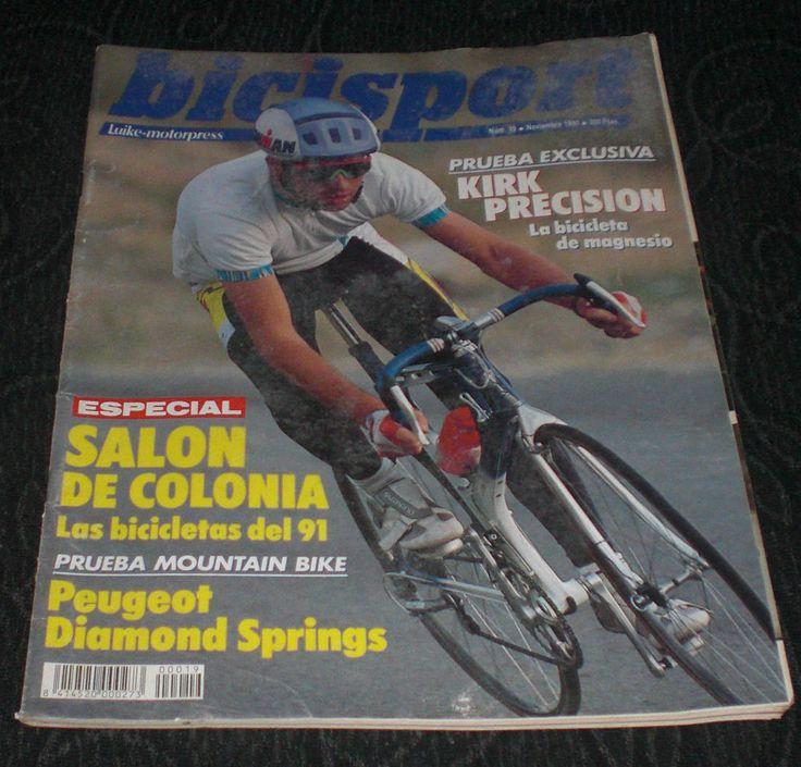 Revista Ciclismo Bicisport N 20 Diciembre 1990 Poster Eric Breukink Fausto Coppi