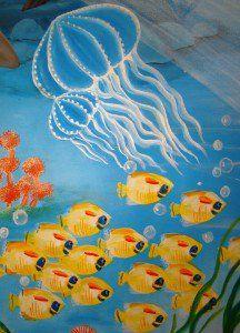 fondo del mar sala de juegos