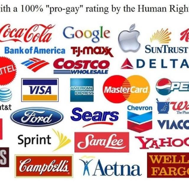 Pro Gay Companies 112