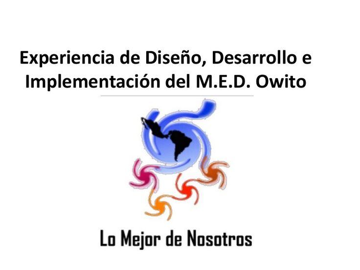 Presentación virtual de Owito. Slide.