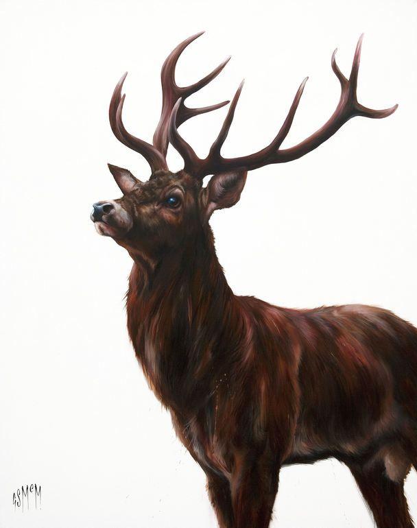 "Saatchi Art Artist: Georgina McMaster; Acrylic 2011 Painting ""Arthur"""